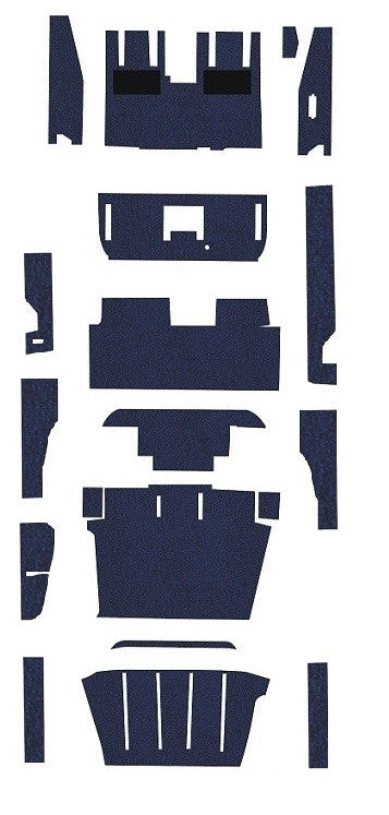 Beechcraft B60 Duke Pre-Cut Carpet Kit