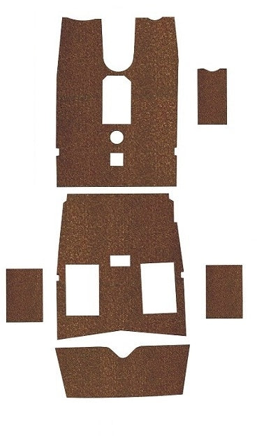 Piper PA24-260 C Comanche Pre-Cut Carpet Kit
