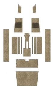 Piper PA28-161 Pre-Cut Carpet Kit