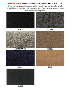 Featherweight Carpet Colors