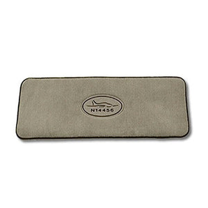 Passenger Mat With Embroidered Tail Number And Premium Logo