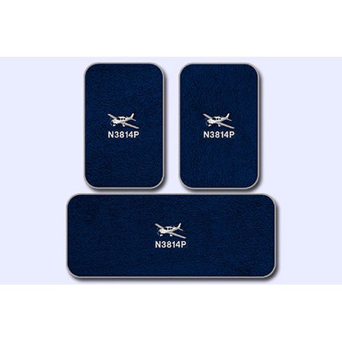 Cirrus Custom Crew And Passenger Mats For Aircraft Without A/C