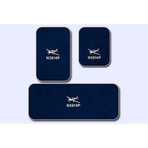 Cirrus Custom Crew And Passenger Mats For Aircraft Equipped With A/C