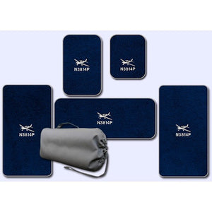 Cirrus Custom Crew Passenger and Wing Mats for aircraft equipped with A/C
