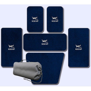 Cirrus Custom Full Set Of Mats For Aircraft Without A/C