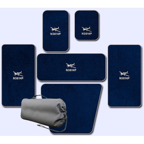 Cirrus Custom Full Set Of Mats For Aircraft Equipped With A/C