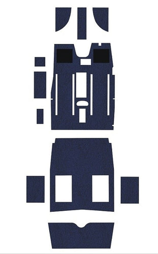 PA-30B Carpet Kit -Fits 4-Seat Twin Comanche