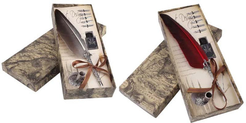 Calligraphy Feather Dip Pen Gift Box
