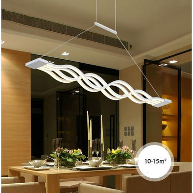 Decorative Black and White Pendant Lamp Light
