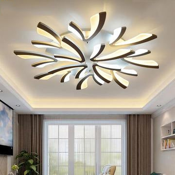 Large Modern DEL Chandelier for Living Room