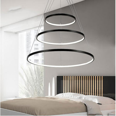 Round Rings LED Pendant Light Lamp