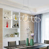 Black & White Modern LED Chandeliers 1