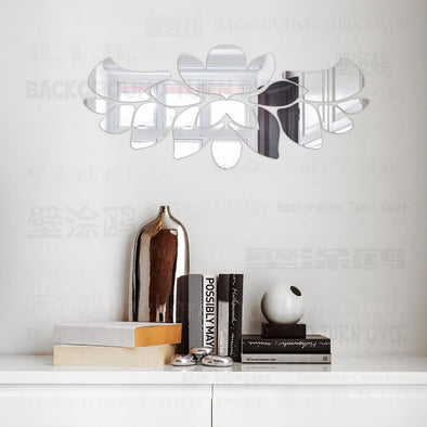 Chandelier Mirror Wall Stickers (11 colors, 5 sizes)