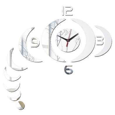 Wall Clock Sticker 3D DIY Modern Design