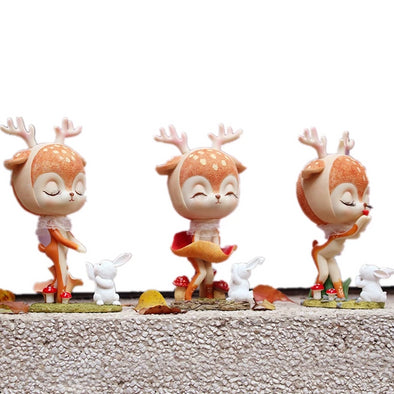 Resin Deer Figurines