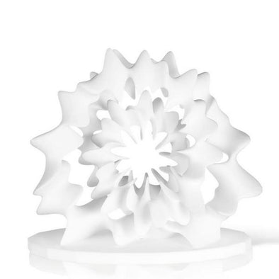 3D Printed Flower Digital Sculpture