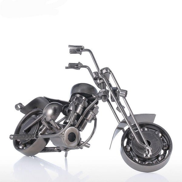 Artistic Motorcycle Sculpture