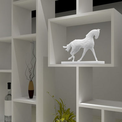 3D Printed Running Horse Digital Sculpture 6