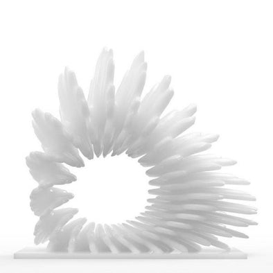 Coral Shaped 3D Printed Sculpture 1