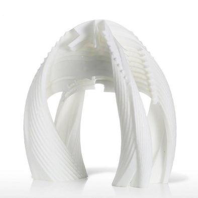 3D Printed Parametric Door Digital Sculpture
