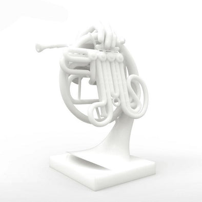 3D Printed Fantastic Horn Digital Sculpture