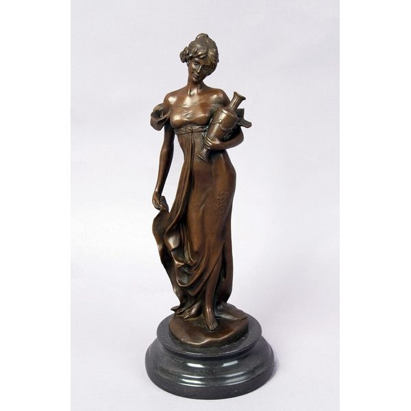 Women with Vase Figurine