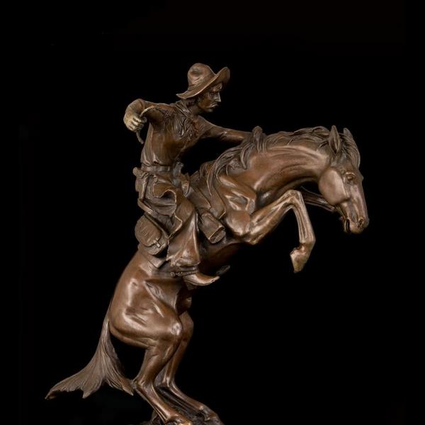 The Bronco Buster - Frederic Remington Sculpture