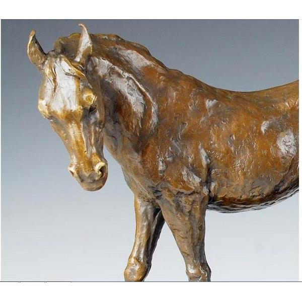Modern Horse Mother-Son Animal Statue Bronze Sculpture - 1