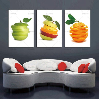 Apples and Oranges Painting