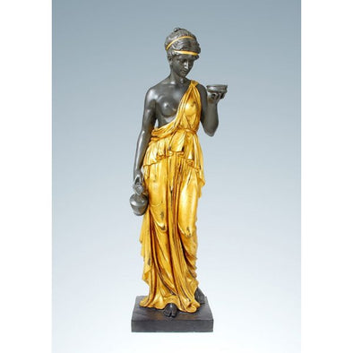Hebe Goddess Bronze Sculpture 1