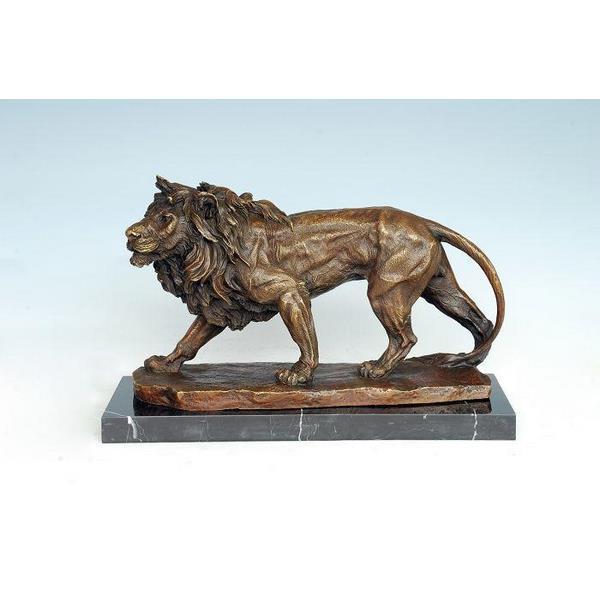 Antique Lion Statue