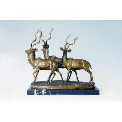 Decorative Antelope Statue