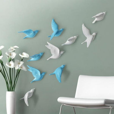 Flying Birds Wall Decor 3D Sticker