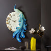 European Style Peacock Wall Clock 1