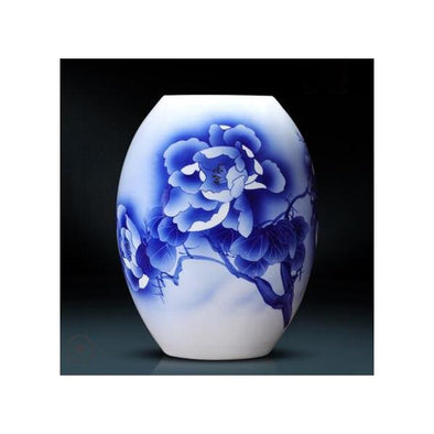 Antique Blue and White Porcelain Vase