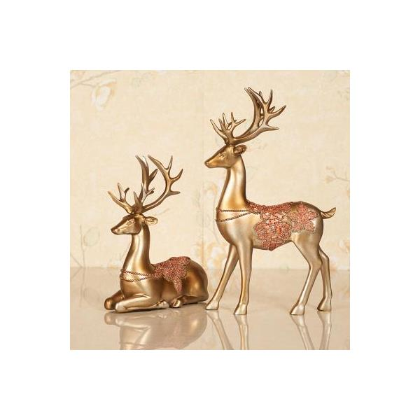 Deers and Birds Decorative Figurine 14