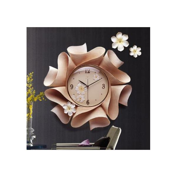 Wonderful Luxury Resin Wall Clock for Home Decor - 2