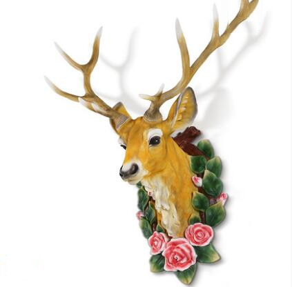Deer Head Decor Wall Mount Decoration  - 2