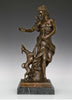Deanna Goddess Bronze Sculpture