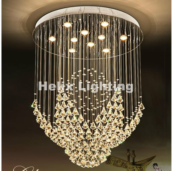 Stainless Steel Crystal Pendant Lighting