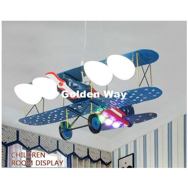 Creative Plane LED Pendant Light - Childrens Ceiling Lights