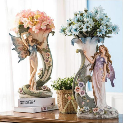 Angel Vase Figurines