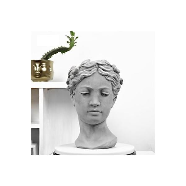 Creative David Portrait Flower Pot Statue - 6