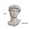 Creative David Portrait Flower Pot Statue - 1