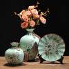 Decorative Ceramic Vase with Artificial Flower -  5