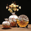 Decorative Ceramic Vase with Artificial Flower - 8
