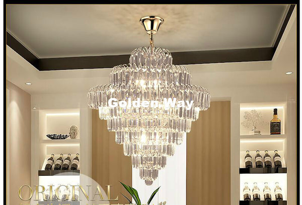 Golden Crystal Pendant Lamp & Pendant Lights