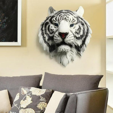 Tiger Head Wall Decoration