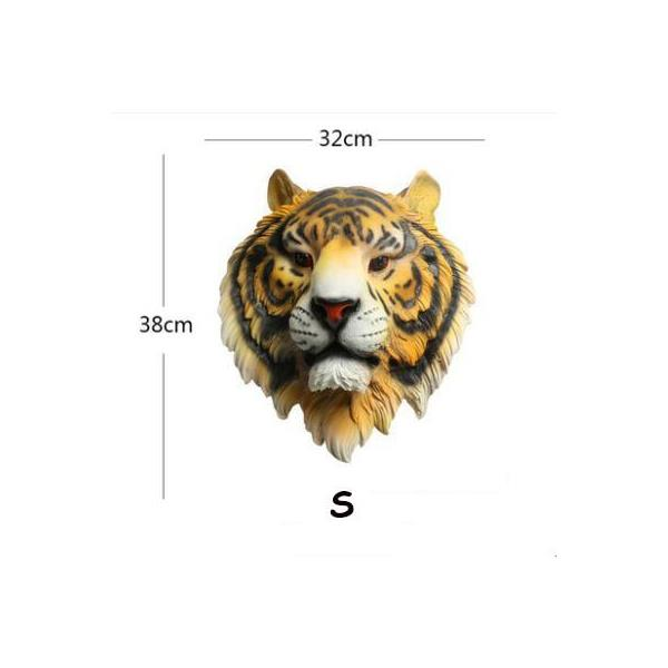 Tiger Head Wall Decoration - 4