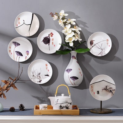 Chinese Ceramic Hanging Plate